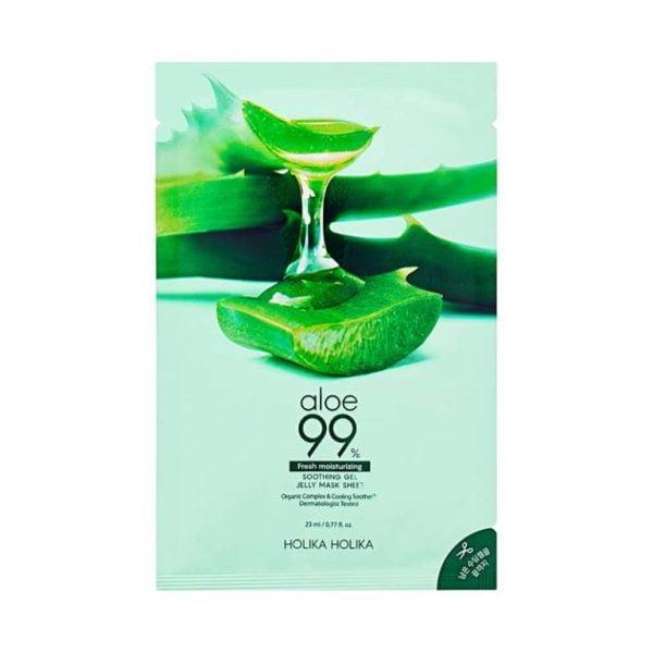 masca-cu-efect-calmant-si-99pct-aloe-vera-fresh-moisturizing-23ml-holika-holika