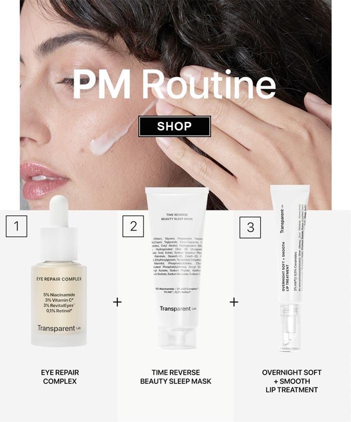 rutina-de-seara-pentru-ingrijirea-pielii-pm-anti-aging-routine-transparent-lab